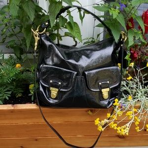 Coach black handbag/purse